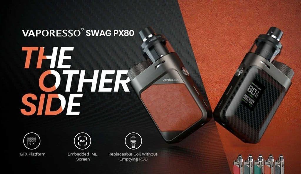 Kit Swag PX80 Vaporesso SMOG